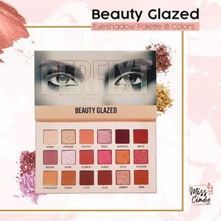 Beauty Glazed Eyeshadow 18 Warna Nude Anti Air thumbnail