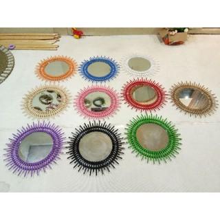cermin dinding/cermin hias/hiasan dinding/cermin wastafel