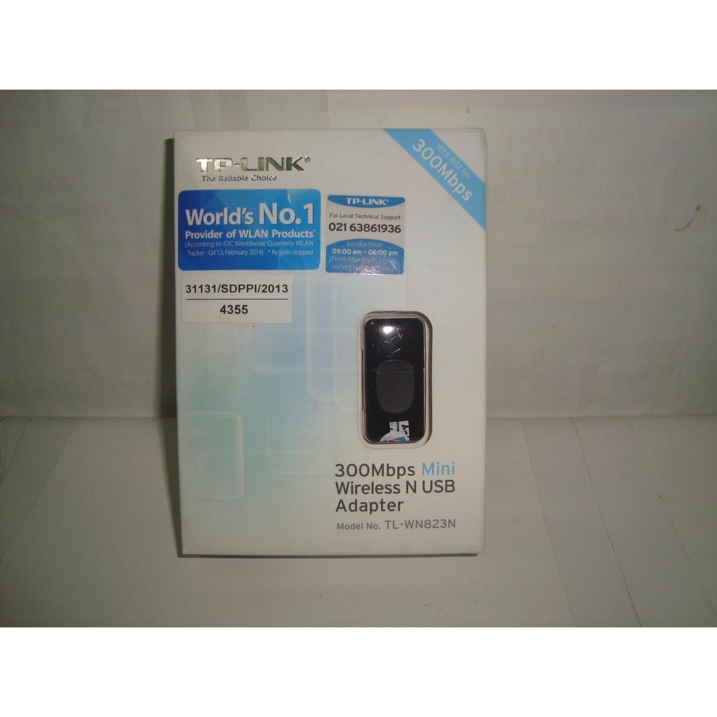 Usb Wifi Dongle Adapter Mini Tp Link Tl Wn823n 300 Mbps Shopee Wn 823n 300mbps Indonesia