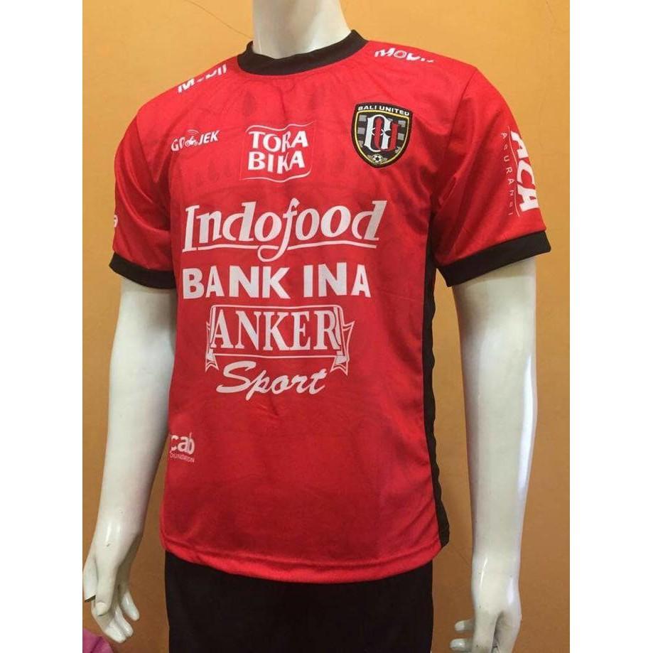 Jual Baju Jersey Grade Ori Bali United Home Piala 2018 Termurah Setelan Stelan Timnas Indonesia Celana Baru Kaos Kostum Jersy Jersi Bola Futsal  New Lokal Allsize Shopee