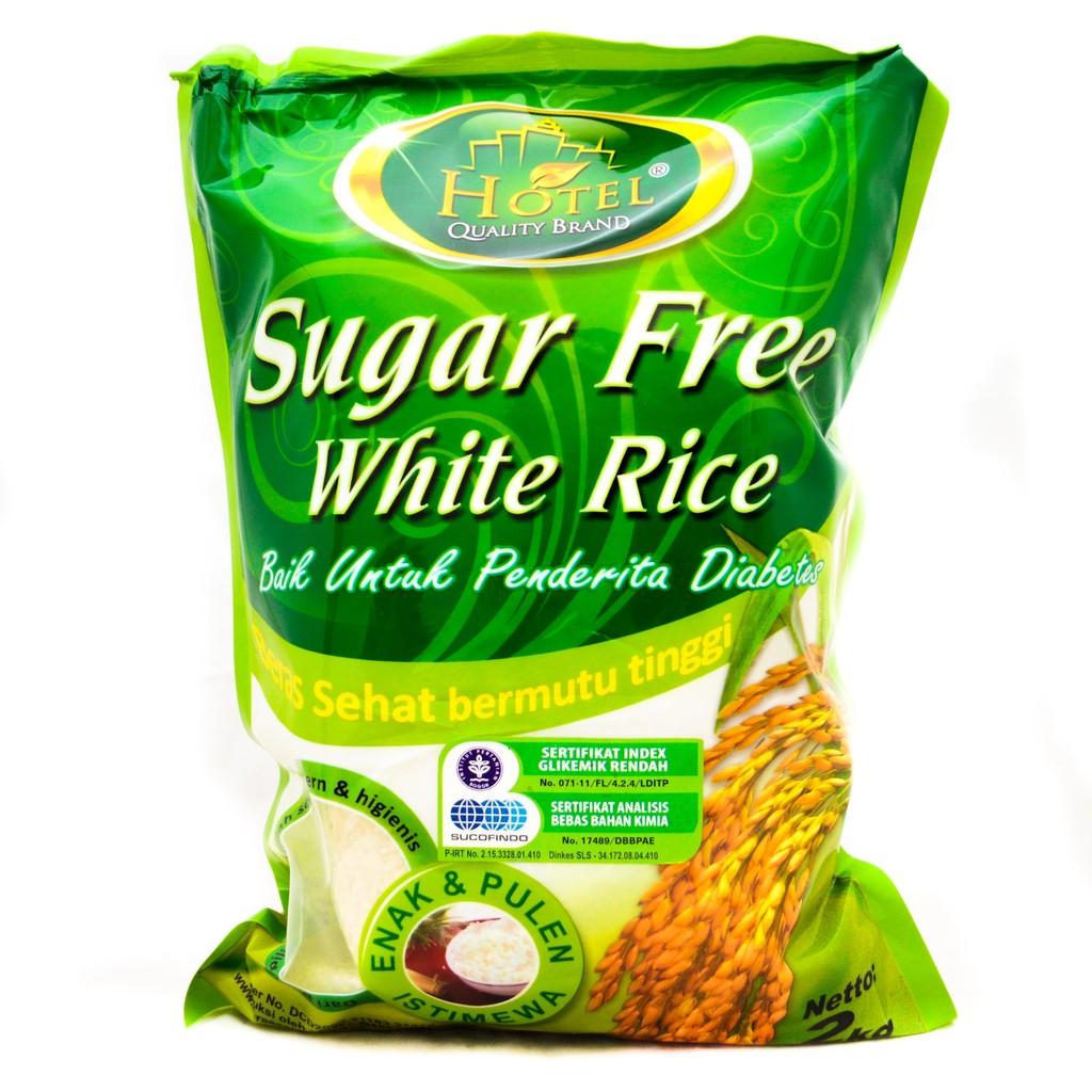 Beras Hotel Sugar Free Organik 2kg Bersertifikat Sucofindo Shopee Putih By Sehat Bogor Indonesia