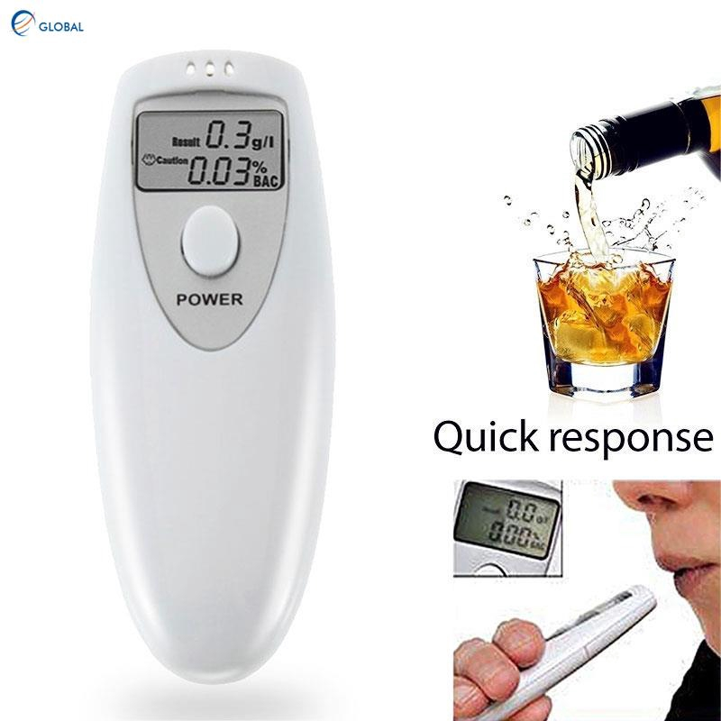 Not Included Alcohol Tester Digital Breath Alcohol Detector Portable Alcohol Analyser Simple Operation Need 2 AAA Batteries