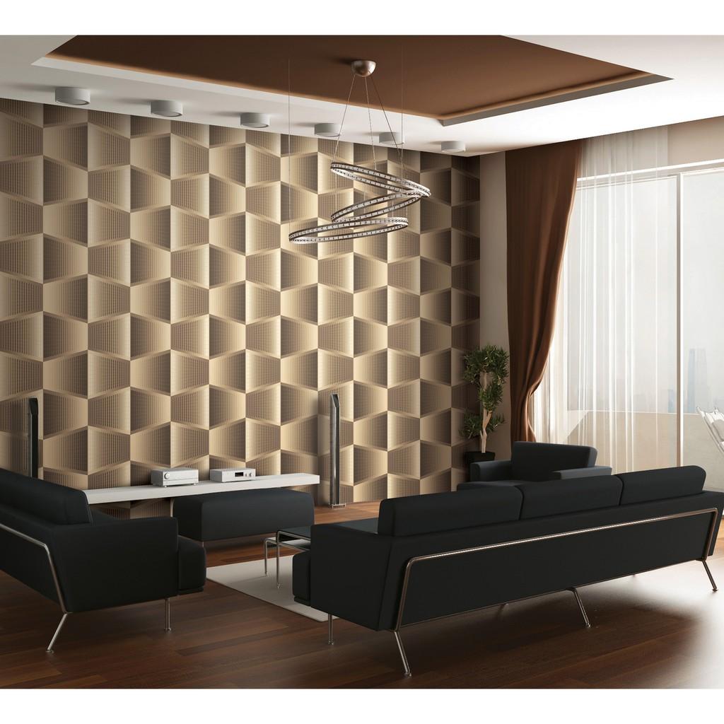 Wallpaper Dinding Korea Motif 3d Roll Besar Shopee Indonesia