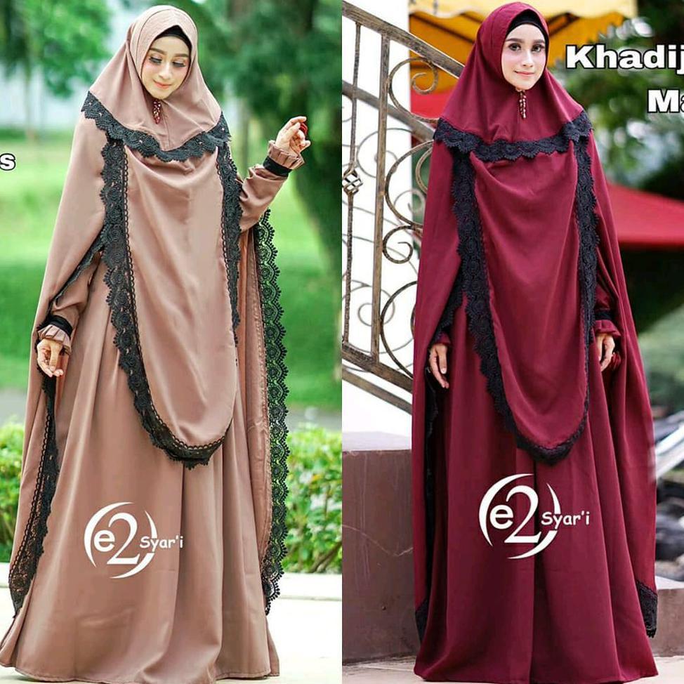 Syari Syar I Gamis Baju Muslim Busana Hijab Wanita Jilbab Shopee Indonesia