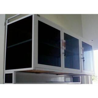 Kitchen Set Atas Aluminium Life Stella 3 Pintu