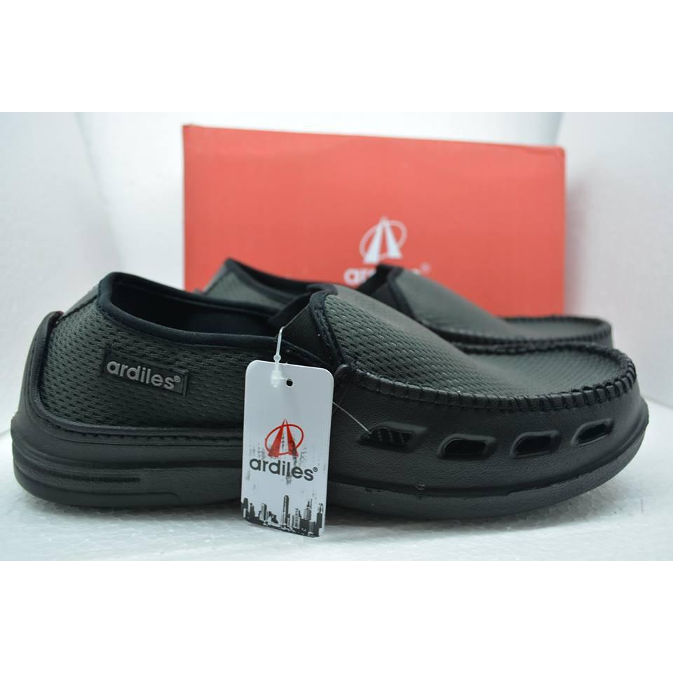 Ardiles Men Richeese Sepatu Slip On Abu Shopee Indonesia Money Vesto Coklat 43