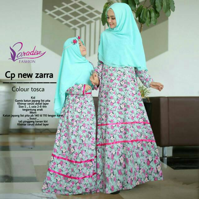 Pa Gamis Couple Katun Jepang Zara Mom And Kids Shopee Indonesia
