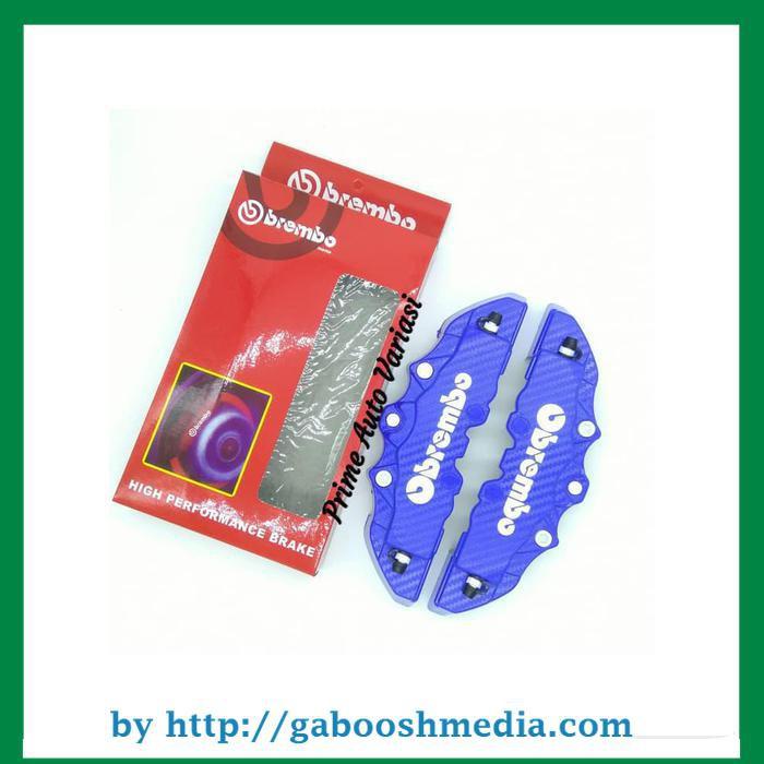 Cover Disk Brake Rem Merah Carbon M - Cover Diskbrake Medium Karbon | Shopee Indonesia