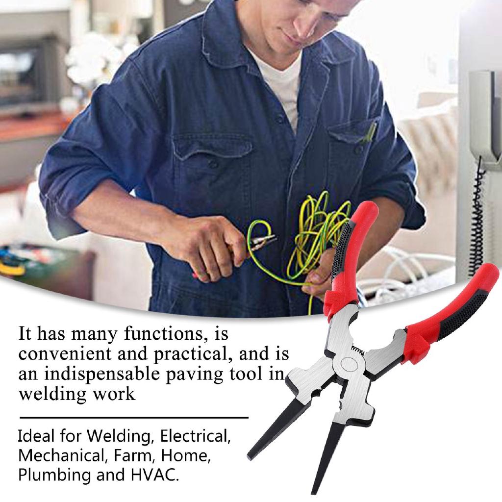 "Professional Multi-Functional 8/"" MIG Welding Pliers for Welding Plumbing"