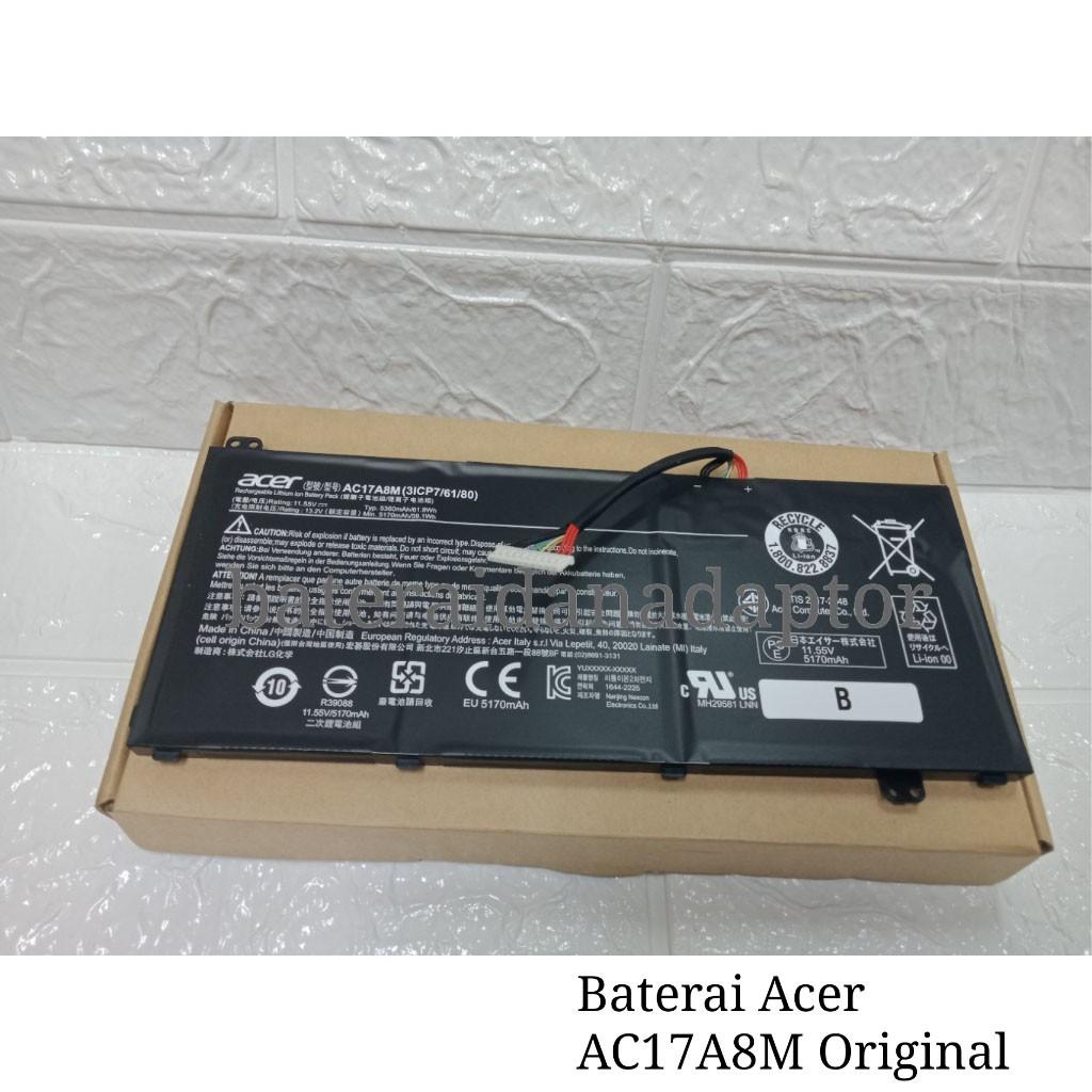 Baterai Acer AC17A8M Original | Shopee Indonesia