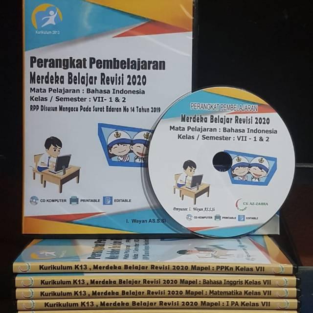 Rpp Terbaru 1 Lembar Smp Bahasa Indonesia Kelas 7 Kurikulum 2013 Revisi 2020 Shopee Indonesia