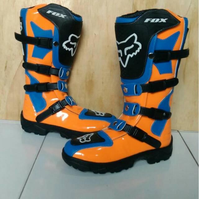 Sepatu Cross Sepatu Trail Sepatu Adventure Sepatu Touring Boots MX Cross  Boots MX Trail Sepatu Fox  a6d9ef70a7