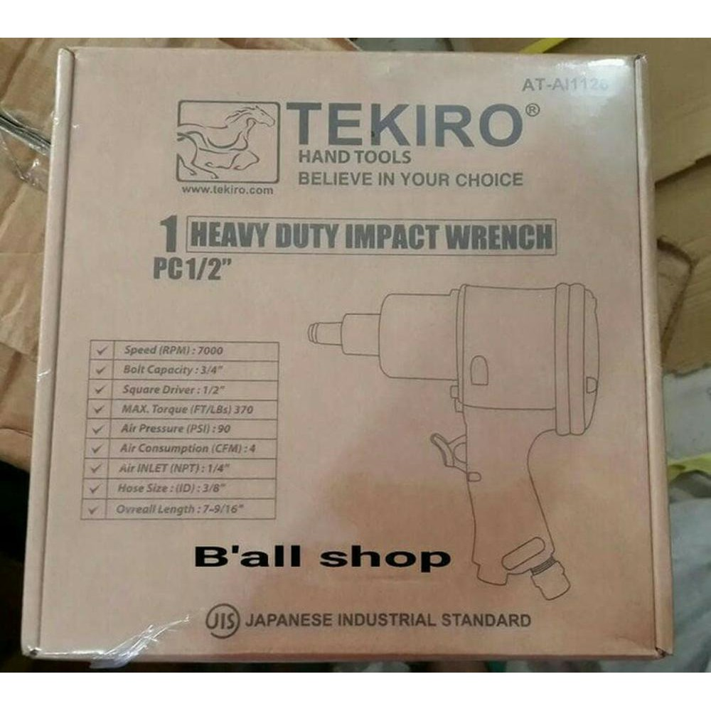 Tekiro Air Riveter Shopee Indonesia Impact 1 2 Inch