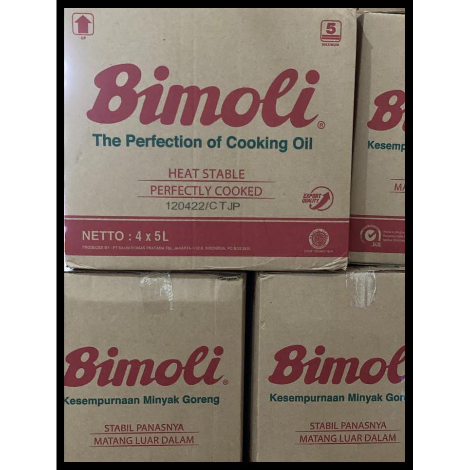 Minyak Goreng Bimoli 4X5 Liter Dus