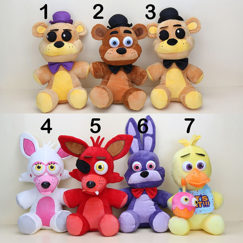 Koala Stuffed Animals Mini, Fnaf Toys Five Nights At Freddy Bear Foxy Bonnie Mangle Stuffed Plush Toys Shopee Philippines