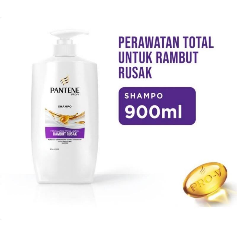 Shampoo Pantene Hair Fall /anti dandruff/ total damage/anti lepek  900ml-Total damage