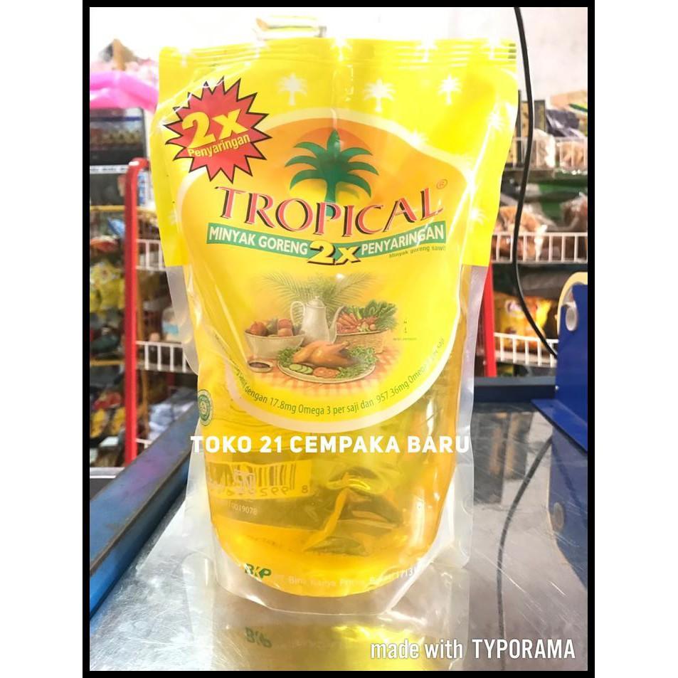 Tropical Minyak Goreng Pouch 2 L 500 Karton Daftar Harga Terbaru Filma 2l Per 1