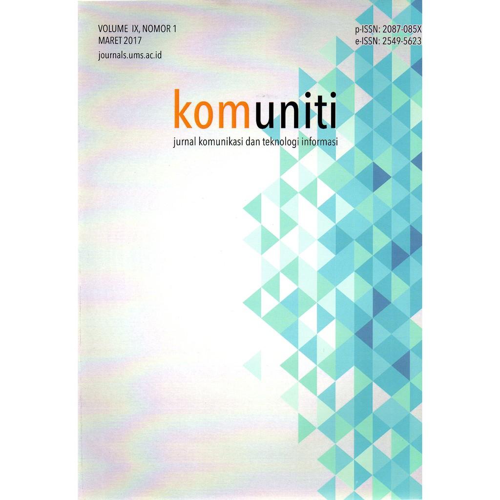 Komuniti Jurnal Komunikasi Dan Teknologi Informasi Shopee Indonesia