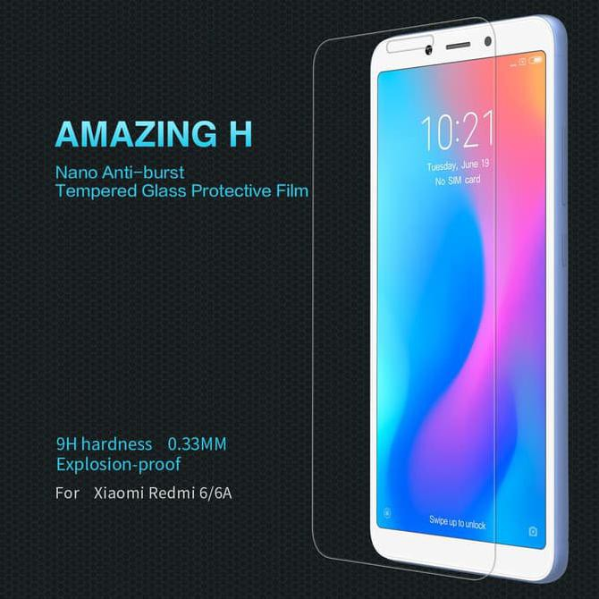 Anti Gores Kaca Tempered Glass Xiaomi Redmi 6A | Shopee Indonesia