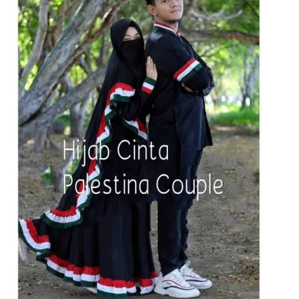 Palestina Couple Gamis Palestina Koko Palestina Shopee Indonesia