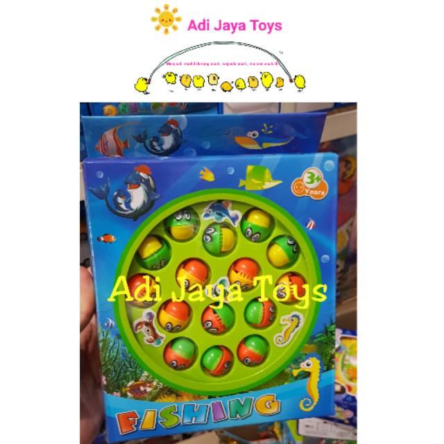 Mainan Pancing Bebek   Fishing Game Board Play Set  3ad76c4d64