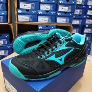 Sepatu Mizuno Badminton atau Volly Cyclone Speed Black Turquise 5b2cc009d0