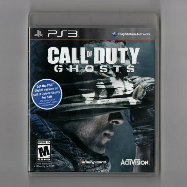 Kaset Bd Ori Ps3 Call Of Duty Ghosts Cod Ghosts Call Of Duty Ghost Cod Ghost Shopee Indonesia