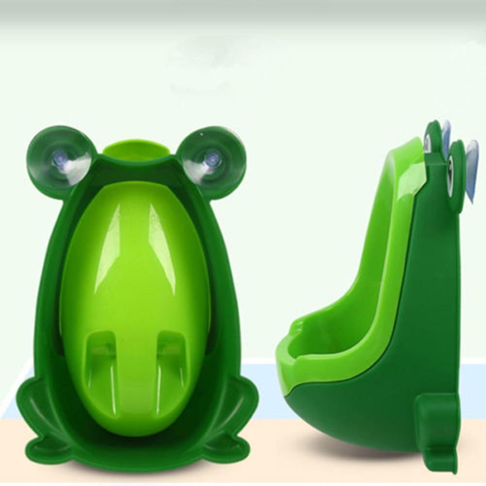 Frog Potty Toilet Children Training Kids Urinal for Boys Pee Trainer Bathroom BO