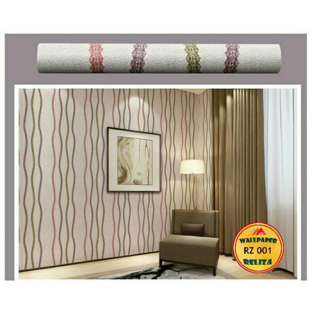 Wallpaper Dinding Kamar Tidur/Ruang Tamu Mural 3D Ukuran 10Meter | Shopee Indonesia