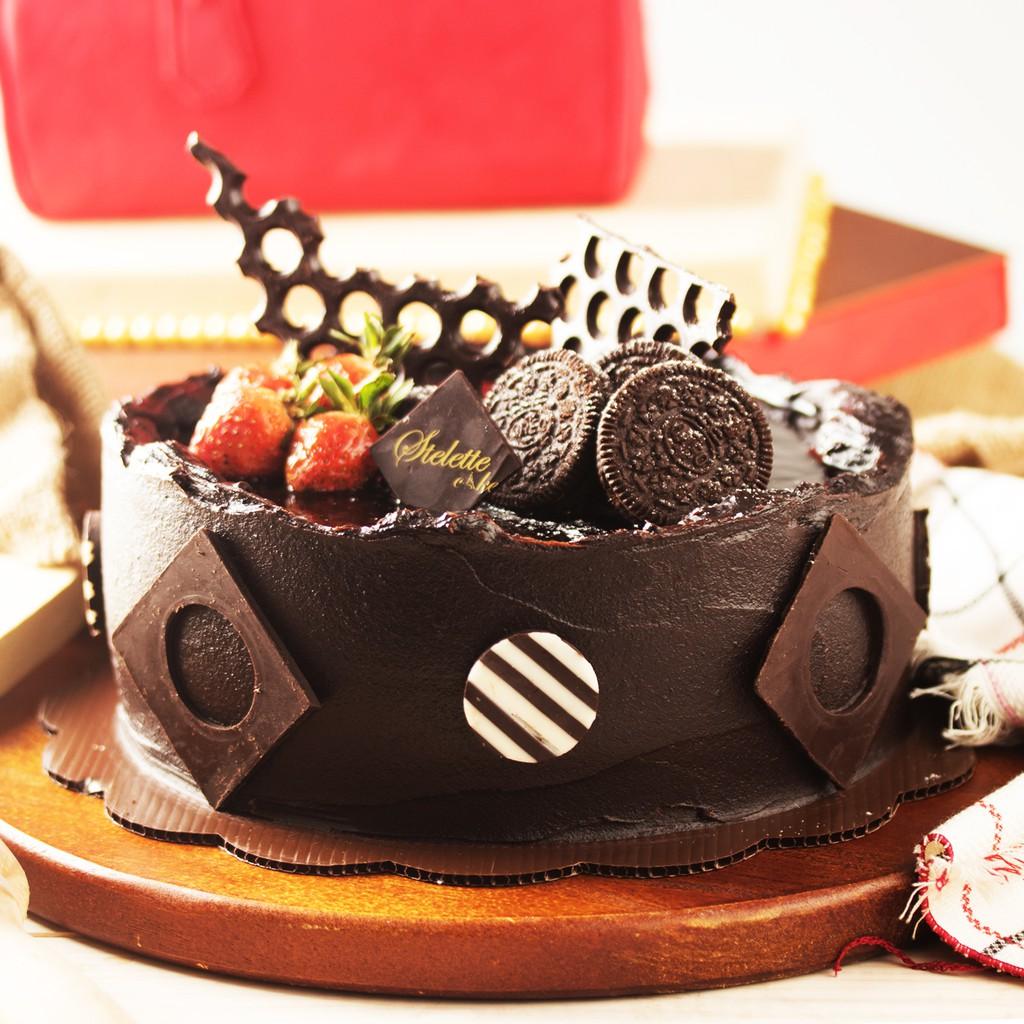 Chocolate Fudge / Kue Ulang Tahun / Birthday Cake ...
