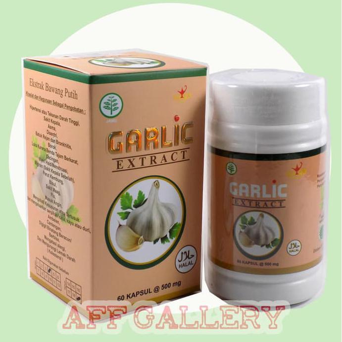 Ekstrak Bawang Putih Kapsul / Garlic .