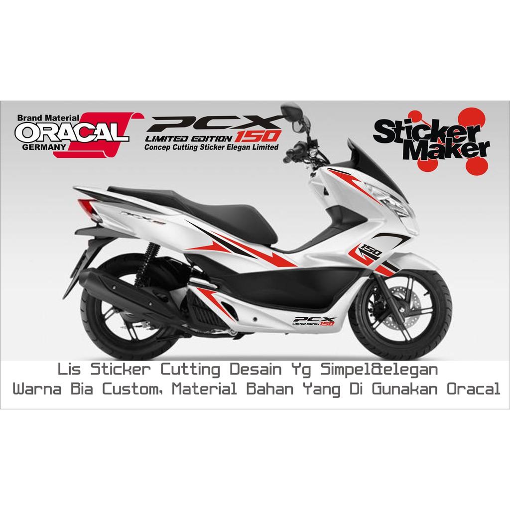 Sticker cutting list pcx stiker cutting list pcx shopee indonesia