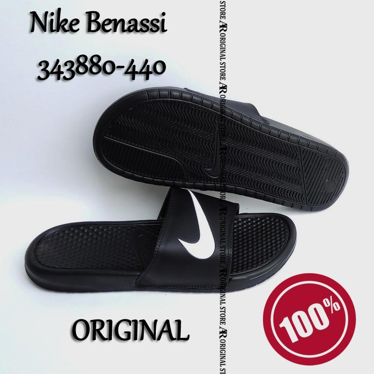 2f7057731ea5 Sandal Nike Benassi Jdi Black 343880-090 Original BNIB