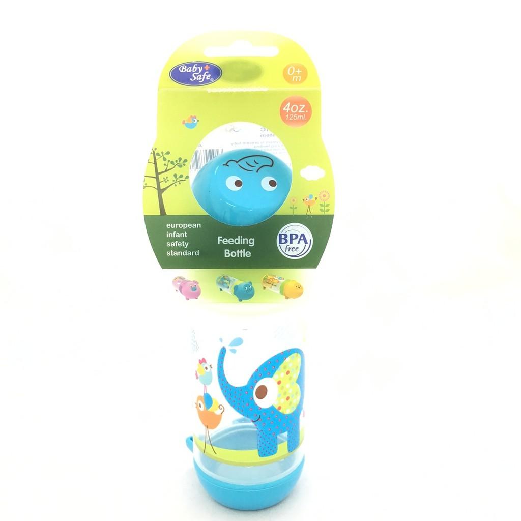 Baby Safe Feeding Bottle Wide Neck 125 Ml Botol Minum Bayi Anak Susu Karakter 250ml Ap002 Niplle Slim Regular P12ap003 Shopee Indonesia