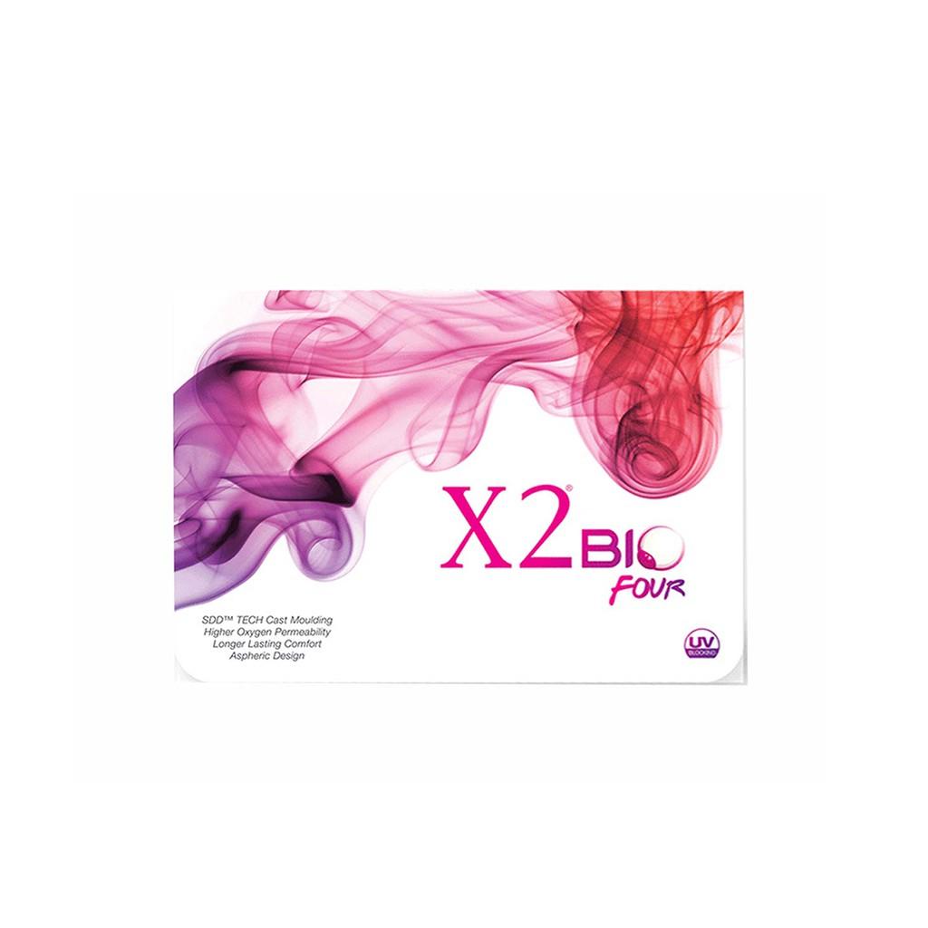 Softlens Warna X2 Bio Color Lembut Untuk Mata Sensitif Ready Minus Ice Series Bulanan Shopee Indonesia