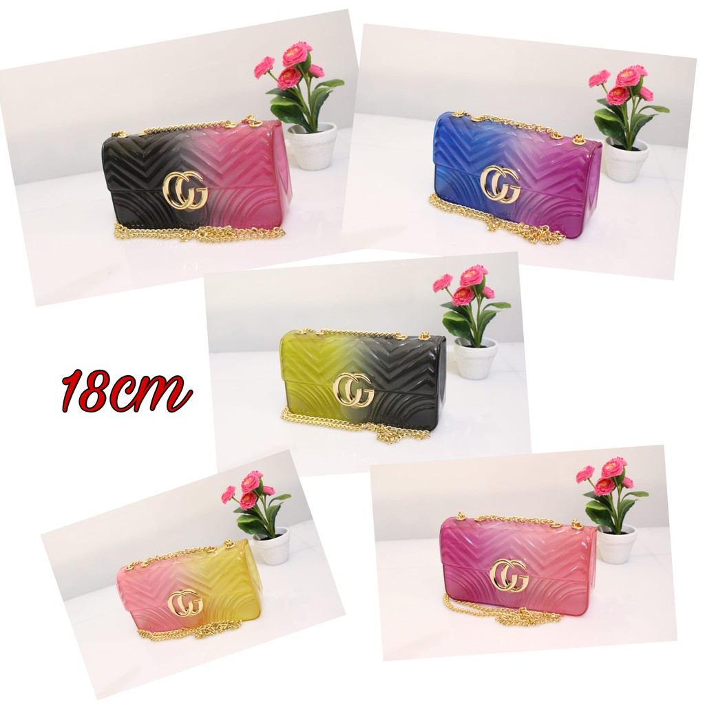 Tas Import Jakarta Jelly Matte Gucci Sylvie Uk20 Bw8013 Free Boneka Doctor Stud 2 Tali Uk 22 Cm Dan Syal Bw8064 Gojek Grab Shopee Indonesia