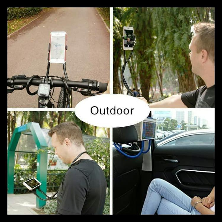 Best Quality Aksesoris Handphone Holder Leher Hp Lazy Hanging Neck Cell Phone Stand Mount Necklace