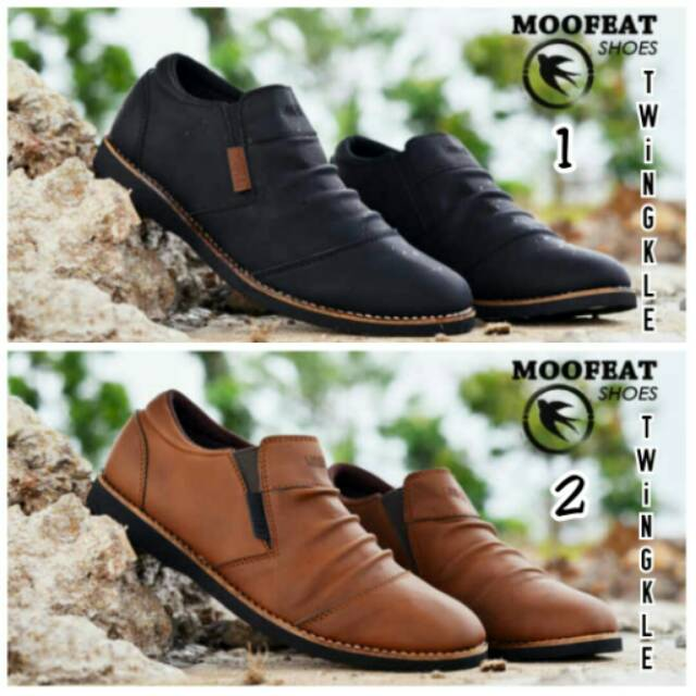 Sepatu Casual Pria Moofeat Marco Slip on Slop  ff55ab8427