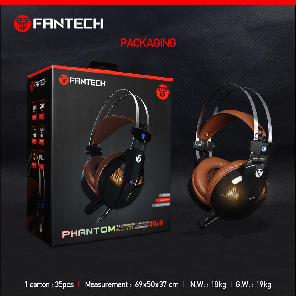 Headset Gaming Fantech HG8