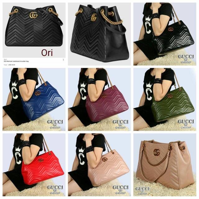 e7c53defceb2 Gucci Sylvie Chain Bag (jy) | Shopee Indonesia