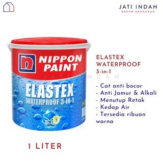Nippon Paint ELASTEX 1 Liter Cat Tembok Anti Bocor ...
