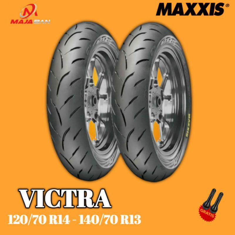 Paket Ban Motor HONDA ADV // MAXXIS VICTRA 120/70 Ring 14 - 140/70 Ring 13
