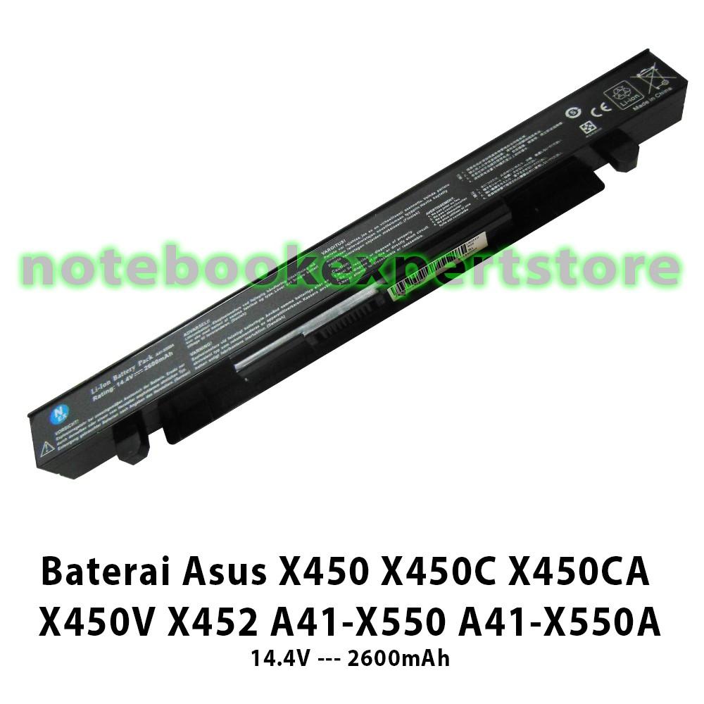 Baterai Laptop Asus A32 K53 X43 X44h A43 A44h A53 A54 Battery Original X200 X200ca X200ma F200ca A31n1302 K43 K84 Shopee Indonesia