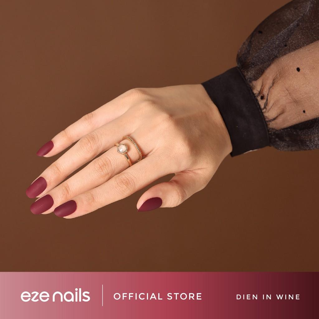 Dien in Wine – Eze Nails Spot On Manicure