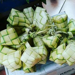 Paket Dekorasi Lebaran Diy Ketupat Garland Pompom Paperplate Shopee Indonesia