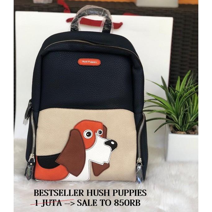 Pesanan iin Hush puppies backpack sale  281000e0af