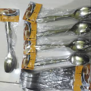 Sendok Set Stainless 12pcs/Sendok 12set/sendok stainless tebal/sendok makan stainless | Shopee Indonesia