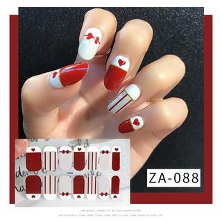 KKV-NAIL SHOW 14 nail sticker Shiny Shiny Fake Nails Beauty Nails Manicure thumbnail