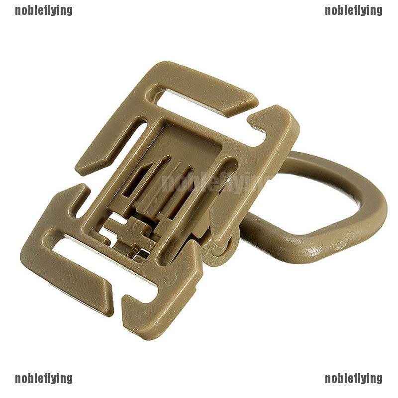 MOLLE Sternum Strap System Swivel D-Ring Rotation POM Buckle 18MM 25MM Webbing