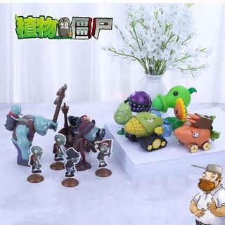 2pcs/set Mainan Plants Vs Zombie Bahan Resin Untuk Hadiah ...